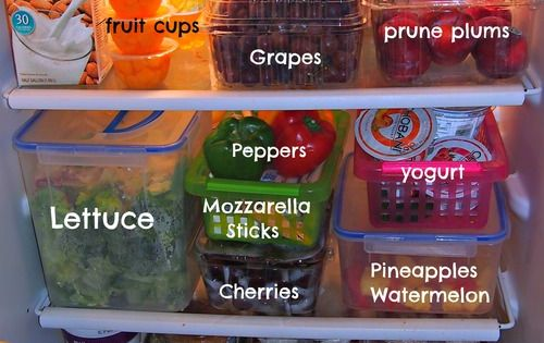 Healthy fridge ideas for clean eating