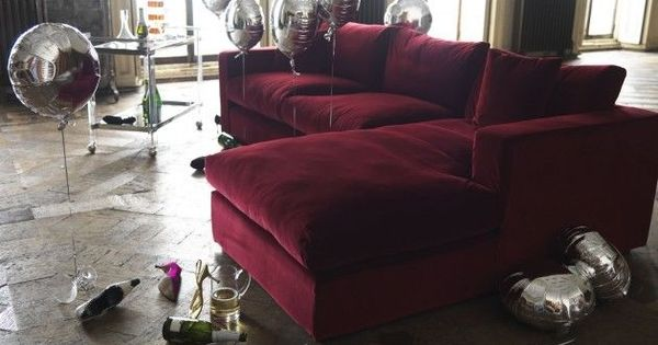 Purple Chenille L Shaped Sofa Google Search Living Room Sofa Living Room Red Red Velvet Sofa