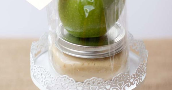 Caramel Apple Gift Idea for my healthier team members