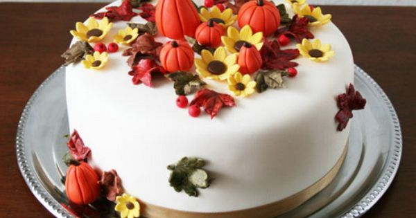 Birthday Cake For Adults Autumn Fall Birthday Cakes