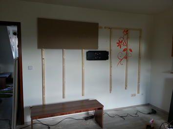 Wohnwand Tv Wand Selbst Gebaut Teil 1 Tv Wand Ideen