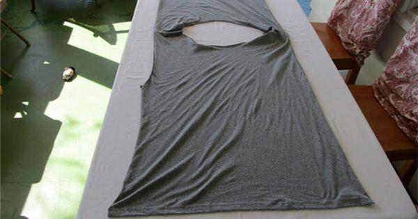 DIY T- Shirt vest