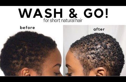 Wash And Go Natural Hair