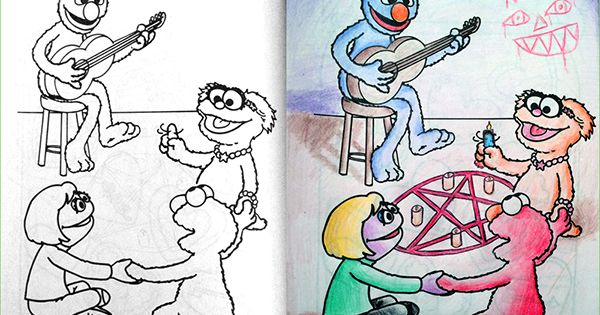 12 Coloring Book Corruptions Your Sick Little Mind Is