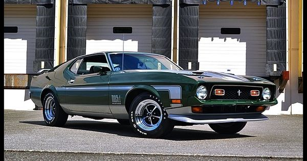 1971 Ford Mustang Mach 1 351 Ci 4 Speed Mecum Seattle