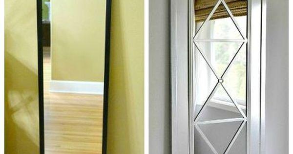 Upcycle A Cheap Door Mirror Home Decor Turn An