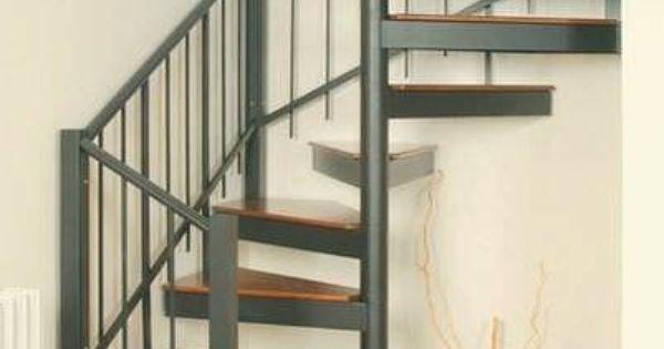 escalier en colima on avec un plan carr 4 escaliers pinterest. Black Bedroom Furniture Sets. Home Design Ideas