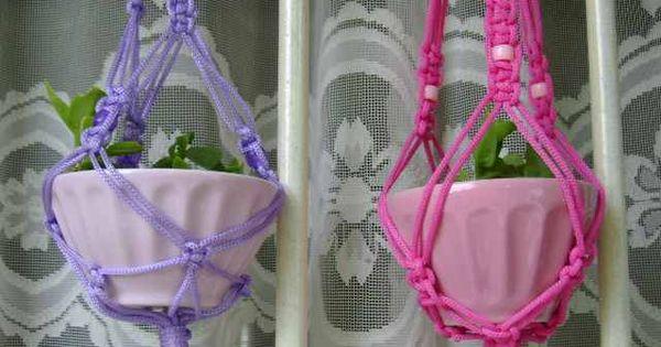 Formas originales de colgar las macetas para interior - Macetas para colgar ...