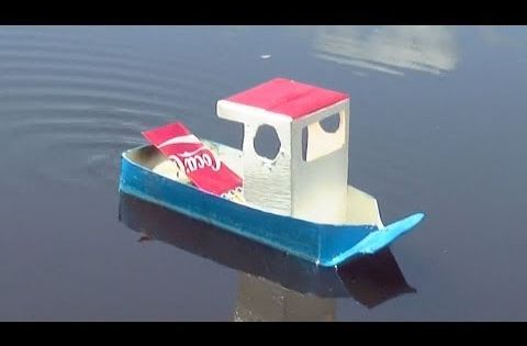How to Make a Simple Pop Pop Boat How to make a | Pop pop ...
