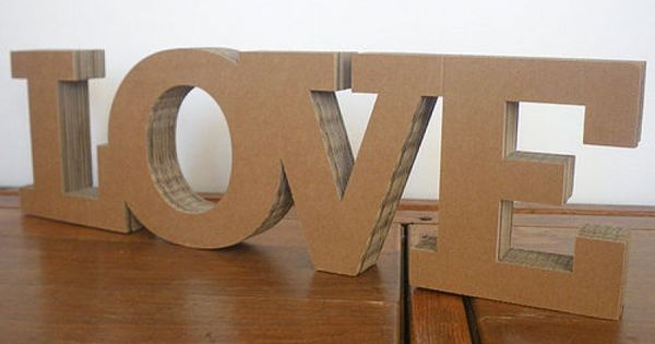 Customised Word Block By Letterfestcom Made From FSC