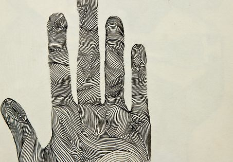 EHand Ink Drawing By Michelle Fay art drawing illustration