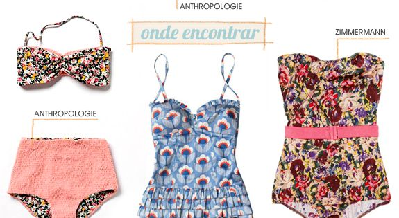 I want em alllllll!! :: Vintage Bathing Suits:: Retro Swimwear:: Pin up