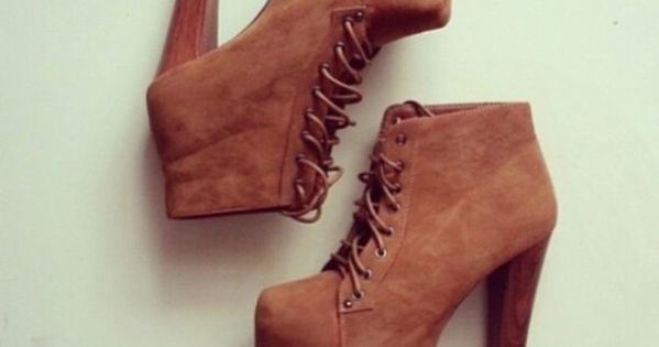 shoes boots fall brown high heels wood brown shoes ankle boots suède