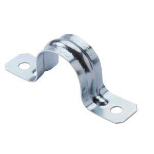 1 In Rigid Conduit 2 Hole Strap 4 Pack 26123 Home Depot Holes Pvc Conduit