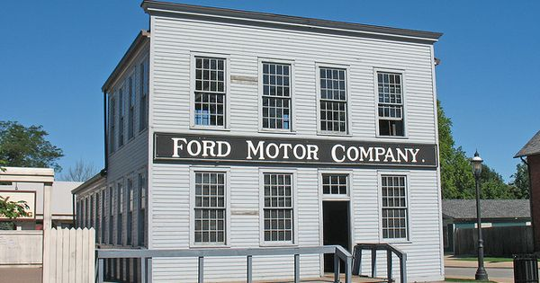 Ford Motor Company 39 S Original Building Greenfield Village