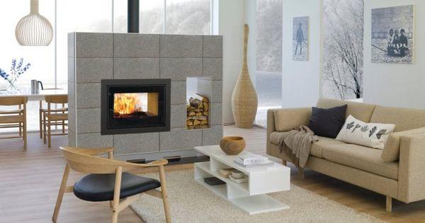 Permite separar ambientes chimeneas mers pinterest - Chimeneas y ambientes ...