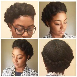 11 Crown Braid Styles Perfect For Spring Protective Styling Gallery Black Hair Information Hair Styles Afro Braided Hairstyles Goddess Braids Hairstyles