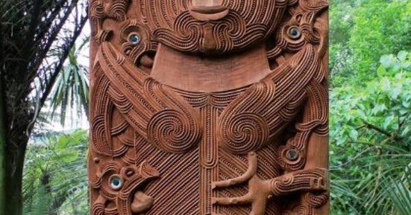 Tāne nui ā rangi carved by lyonel grant bernard makoare