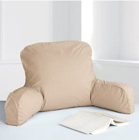 Bed Rest Pillow Or A Pillow For Reading In Bed Retro