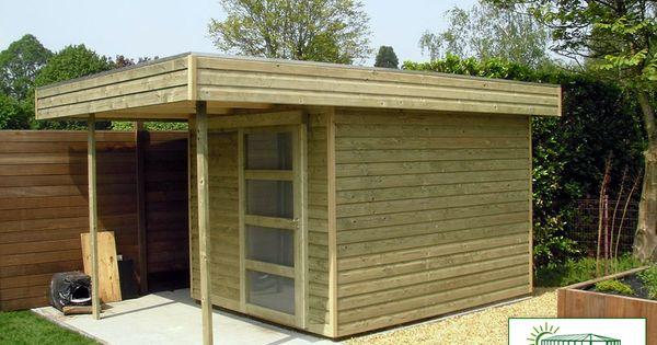 Abri De Jardin Moderne Autoclave Avec Auvent Import Garden Abri De Jardin Moderne Abri De Jardin Jardin Moderne