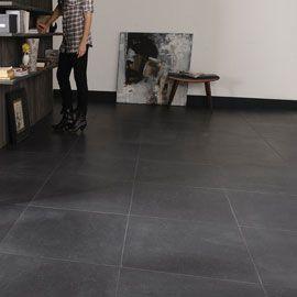 Carrelage Sol Noir Granit 60 X 60 Cm Castorama Carrelage Carrelage Sol Carrelage Interieur