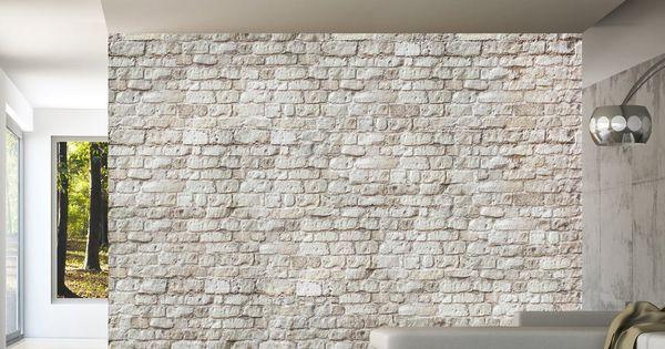 papier peint trompe l 39 oeil design pas cher tapisserie murale imitation briques carta da parati. Black Bedroom Furniture Sets. Home Design Ideas