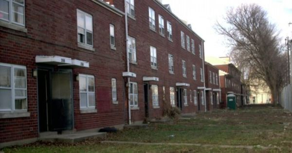 Clarksdale housing project just before demolition for Royal motors lexington ky