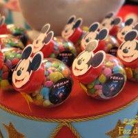 Baleiro Mickey Mateo Cumpleanos Circo Do Mickey Festa Mickey