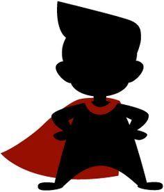 Superhero Boy Shadow Picture Google Search Kids Silhouette Superhero Silhouette Superhero Kids