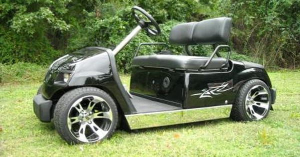 Lowered Yamaha Golf Cart