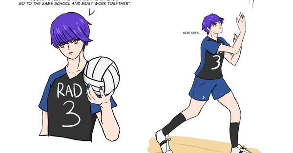 The Demon Brothers And Volleyball Part 2 In 2020 Obey Demon Handsome Anime Guys