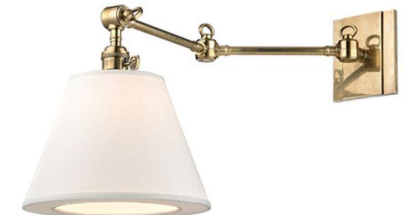 Darby Home Co Elmbridge 1 Light Swing Arm Swing Arm Wall Lamps