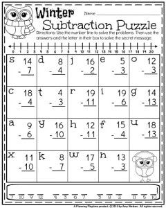 1st Grade Worksheets For January First Grade Math Worksheets 1st Grade Worksheets 1st Grade Math Worksheets Subtraction and addition worksheets 1st
