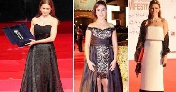 شاهد دلع فساتين فنانات مصر فى مهرجان 2016 Dresses Formal Dresses One Shoulder Formal Dress