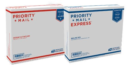 Dual Use Priority Mail Flat Rate Priority Mail Express Weight