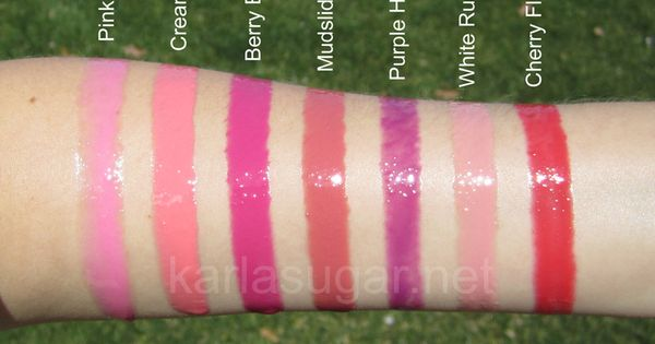 Buxom Big And Healthy Lip Cream Swatches Pink Lady
