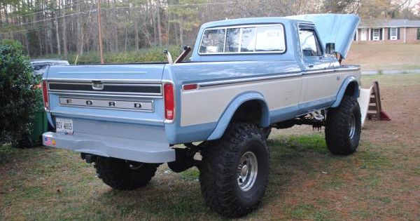 Nice Lifted 1976 F250 Highboy 4x4 For Sale or Trade North