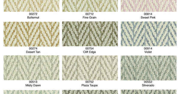 The Color Palette For Only Natural Carpet Style From