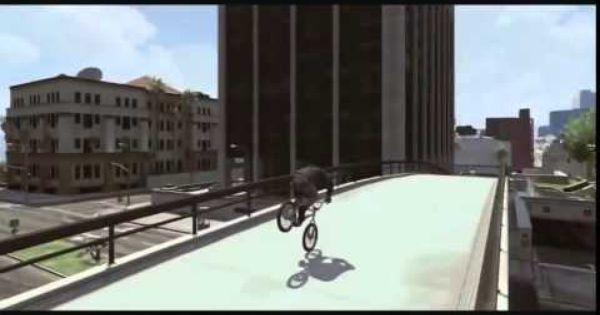 Gta 5 Amazing Bmx Freestyle