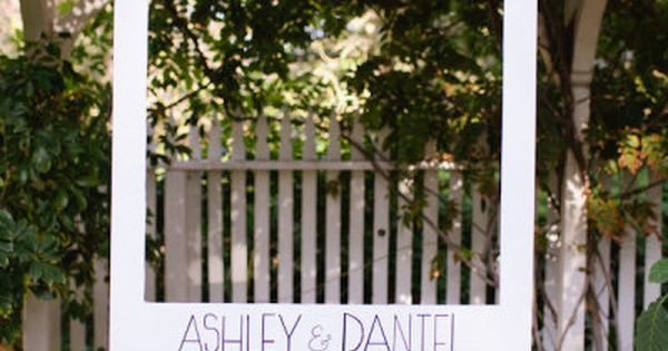 Polaroid photo booth. | 23 Unconventional But Awesome Wedding Ideas Cute idea