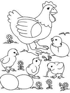 Aneka Gambar Mewarnai Gambar Mewarnai Ayam Untuk Anak Paud Dan Tk Pelajaran Menggambar Da Chicken Coloring Chicken Coloring Pages Farm Animal Coloring Pages