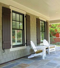 Go Classy With Board And Batten Shutters Topsdecor Com In 2020 House Shutters Shutters Exterior Windows Exterior