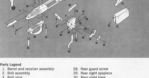 Remington 700 Exploded View Diagram