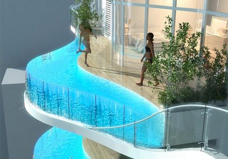 Bandra ohm residential building in mumbai india will - Swimming pool construction in india ...