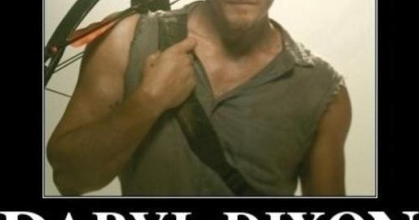 Daryl Dixon. What did YOU do today? - love the Walking Dead!!