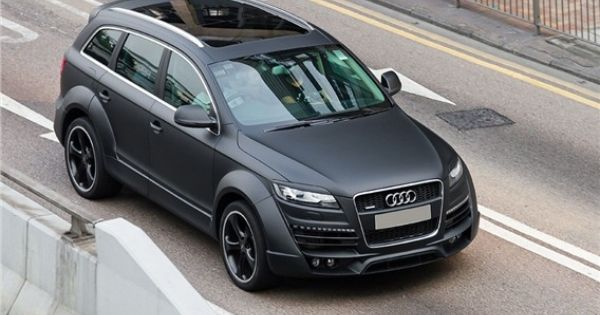 2015 Audi Q9 Pictures From The Top In Black Color Latzcars Black Audi Audi Q7 Black Audi