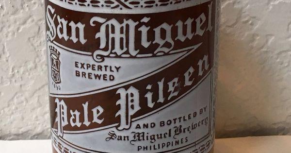 San Miguel Beer Philippines Glass Bottle Beer Drinking Cup Sanmiguel San Miguel Beer Beer Glass Beer