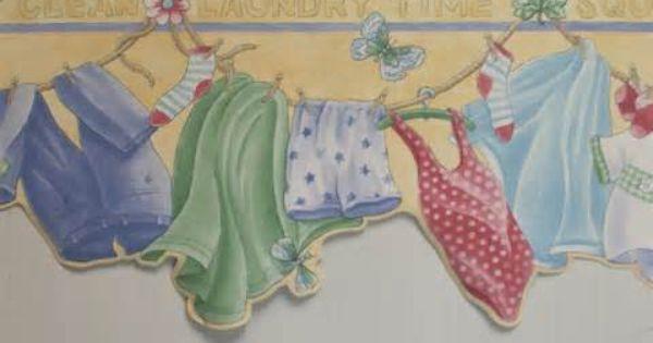 Laundry Room Wallpaper Border Resimler Resim