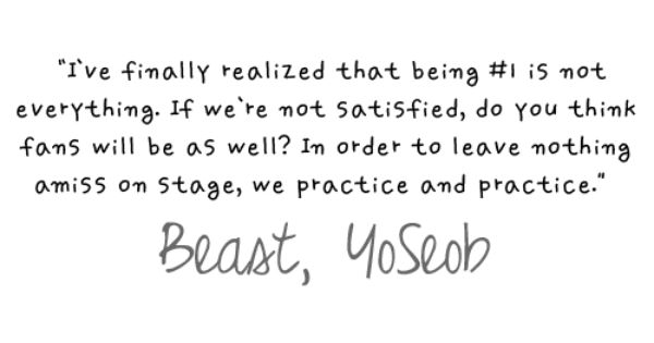 beast yoseob dude i think you actually learned something