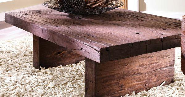 rustikaler couchtisch couchtisch holz couchtisch vintage couchtisch pinterest rustikale. Black Bedroom Furniture Sets. Home Design Ideas